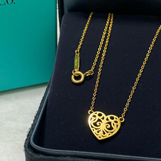 Tiffany & Co. - 美品tiffanyエンチャントゴールド750ネックレス