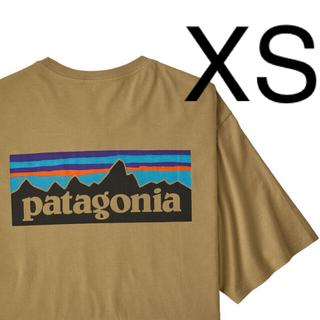 patagonia - パタゴニア Tシャツ 新品 XSサイズ P-6 ロゴ クラシック タン CSC