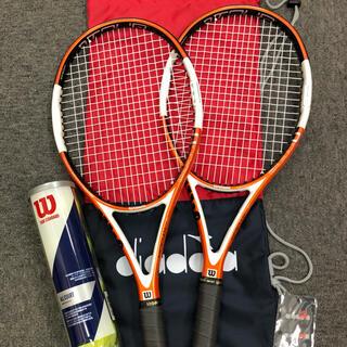 ウィルソン(wilson)のウィルソン テニスラケット2本セット(ラケット)