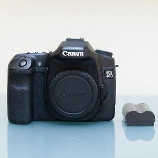 Canon - 訳有 ✼ Canon EOS 40D 動作は良好です(シャッター数23499回)