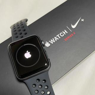 Apple Watch - Apple Watch 3  42mm NIKE セルラーモデル極美品