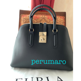 Furla - ◆新品未使用◆フルラ ミラノ2WAY ハンドバッグ 黒