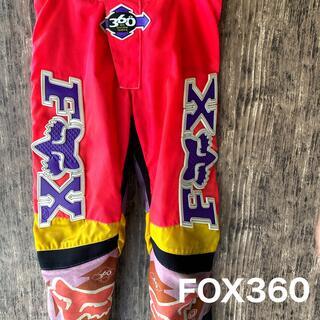 【FOX RACING】オフロード モトクロス パンツ 360 サイズ32