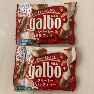 メイジ(明治)の明治ガルボ クリーミーミルクティー(菓子/デザート)