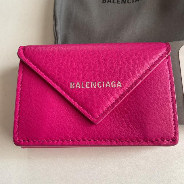 Balenciaga(バレンシアガ)の値下げ!BALENCIAGA直営店購入バレンシアガペーパーミニウォレット レディースのファッション小物(財布)の商品写真