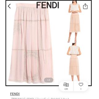フェンディ(FENDI)の新品未使用 FENDI フェンディ  スカート(ロングスカート)
