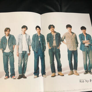 Kis-My-Ft2 - キスマイ特集 切り抜きページ VoCE 9月【最新号】Kis-My-Ft2