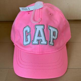ベビーギャップ(babyGAP)のbaby GAP ベビー ギャップ キャップ 帽子 ロゴピンク 新品 未使用(帽子)