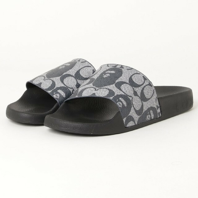 A BATHING APE(アベイシングエイプ)のBAPE X COACH SLIDE SANDALS メンズの靴/シューズ(サンダル)の商品写真