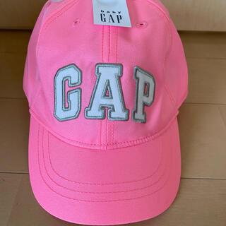 ベビーギャップ(babyGAP)のbabyGAP ベビーギャップ キャップ 帽子 ピンクロゴ 新品 未使用(帽子)