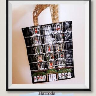 ハロッズ(Harrods)のHarrodsハロッズバッグ / ショッピング/トートバッグ エレベーター柄(トートバッグ)