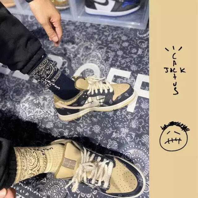 Supreme(シュプリーム)の☆早い者勝ち☆海外インポート☆トラヴィススコット カクタスジャック ソックス靴下 メンズのレッグウェア(ソックス)の商品写真