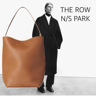 L'Appartement DEUXIEME CLASSE - 2020 aw THE ROW N/S PARK レザー ショルダーバッグ