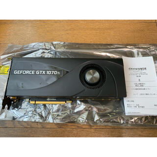 Zotac Geforce gtx1070ti グラフィックボード 訳有品