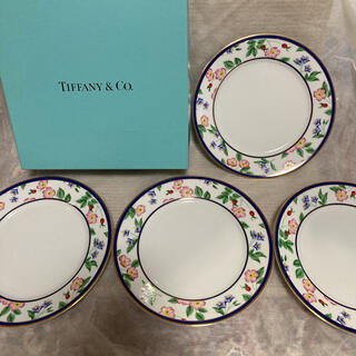 Tiffany & Co. - ティファニー プレート 4枚 ブルーボックス 新品
