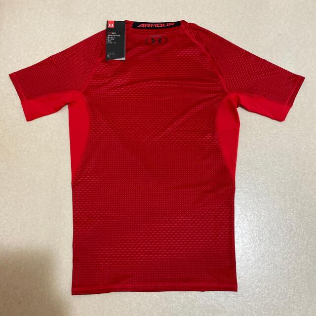 UNDER ARMOUR(アンダーアーマー)の⭐️【新品】アンダーアーマー  Tシャツ 赤 Lサイズ⭐️ メンズのトップス(Tシャツ/カットソー(半袖/袖なし))の商品写真