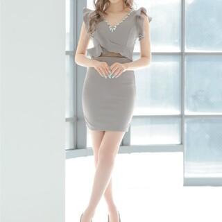 dazzy store - 美品 Tika グレー セパレート風ドレス M