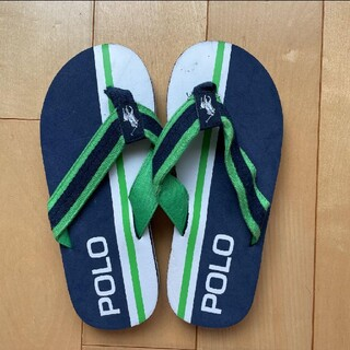 POLO RALPH LAUREN - 訳あり【新品・未使用】POLO☆ビーチサンダル☆23.5cm