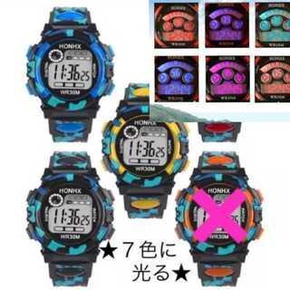 ギャップキッズ(GAP Kids)の限定価格!新品★7色に光る腕時計★(その他)