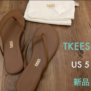 IENA - ★新品未使用★イエナ 20SS【TKEES】サンダル US5 ブラウン