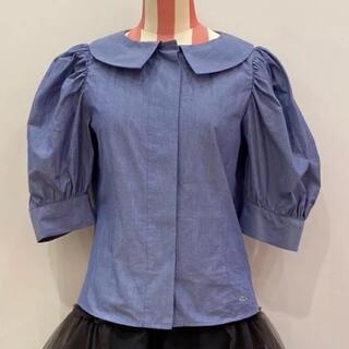 Vivienne Westwood - 新品 ヴィヴィアンウエストウッド 丸襟ブラウス パフスリーブ