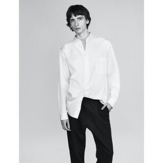Jil Sander - +J ユニクロ 新品タグ付き スーピマコットンオーバーサイズスタンドカラーシャツ
