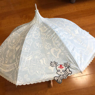 Vivienne Westwood - ヴィヴィアン  ウエストウッド 長傘 晴雨兼用 レッツイットロック オーブ