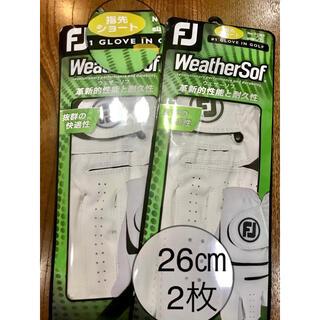 フットジョイ(FootJoy)の【26センチ】フットジョイゴルフグローブ2枚(その他)
