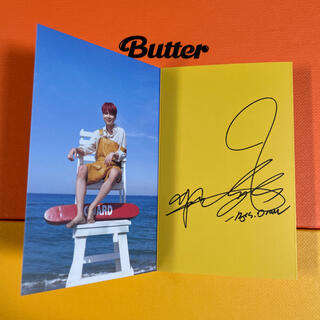 防弾少年団(BTS) - BTS butter ジミン メッセージカード JIMIN