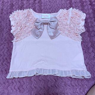 Shirley Temple - シャーリーテンプル110センチリボンTシャツ