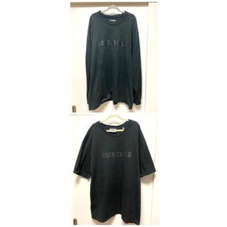 FEAR OF GOD - 2枚セット エッセンシャルズ Tシャツ ロンT XXL  フィアオブゴット