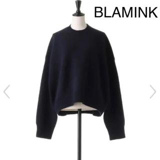BLAMINK  ブラミンク ウールカシミヤニット