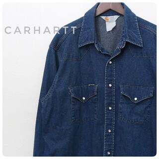 carhartt - Carhartt(カーハート) 古着 ウエスタンシャツ ビッグサイズ 0006