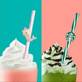 スターバックスコーヒー(Starbucks Coffee)のcocoa様専用ページスターバックス中国夏限定 ストローセット2(タンブラー)