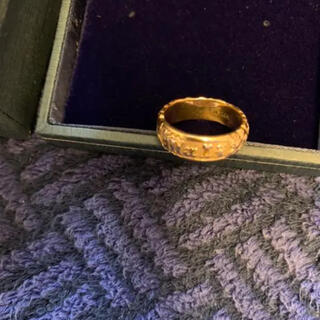 ロノ(LONO)のハワイアンジュエリー k14  イエローゴールド リング❣️可愛い❣️(リング(指輪))