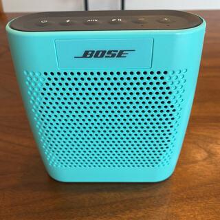 ボーズ(BOSE)のBOSE SOUNDLINK COLOR BLUE(ポータブルプレーヤー)