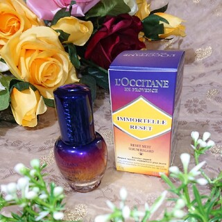 L'OCCITANE - 【ロクシタン】ロクシタン イモーテル オーバーナイトリセットアイセラム15ml