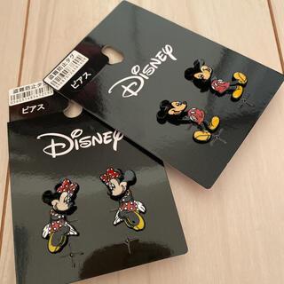 ディズニー(Disney)のディズニー ミッキー  ミニー ピアス(ピアス)