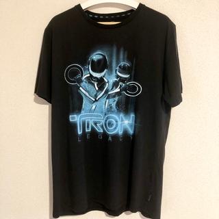 Disney - 映画 トロンレガシー ダフトパンク Tシャツ Disney ムービー