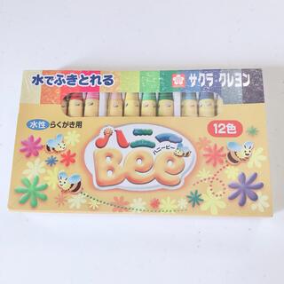 サクラ(SACRA)の【新品】サクラクレヨン ハニービー 12色(クレヨン/パステル)