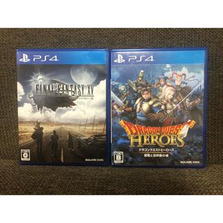 PlayStation4 - PS4 FINAL FANTASY XV & ドラゴンクエストヒーローズ