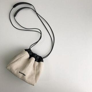 Jil Sander - JIL SANDER ジルサンダー ドローストリングバッグ 巾着バッグ