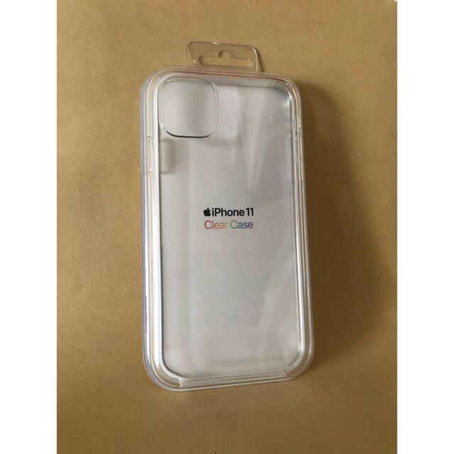 Apple純正 iPhone 11 クリアケース MWVG2FE/A   スマホ/家電/カメラのスマホアクセサリー(iPhoneケース)の商品写真