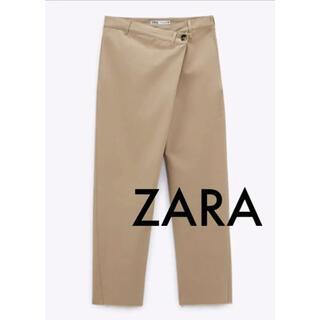 ザラ(ZARA)のZARA ザラ 6990円 アシンメトリーウエストパンツ チノパン(カジュアルパンツ)