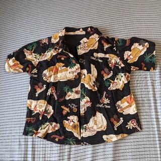 ロデオクラウンズワイドボウル(RODEO CROWNS WIDE BOWL)のRodeoCrownsWB アロハ半袖シャツ (Tシャツ/カットソー)
