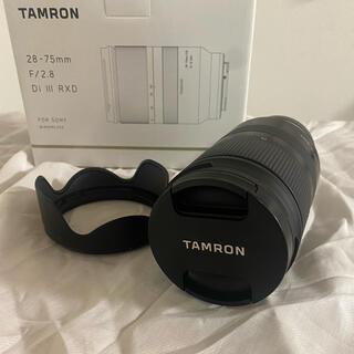 TAMRON - 美品 タムロン 28 75 F2.8 ズームレンズ  SONY Eマウント