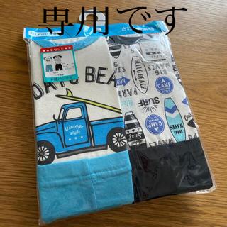 ニシマツヤ(西松屋)の専用 新品 西松屋 半袖パジャマ 120センチ 2セット(パジャマ)
