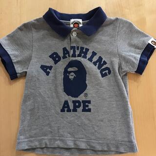 アベイシングエイプ(A BATHING APE)のA BATHING APE BABY ポロシャツ(Tシャツ/カットソー)