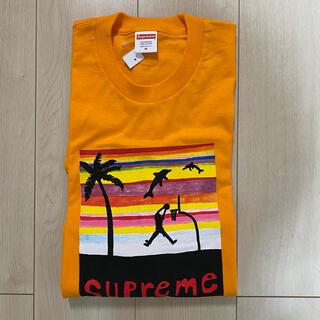 シュプリーム(Supreme)のsupreme dunk Tee オレンジ M(Tシャツ/カットソー(半袖/袖なし))