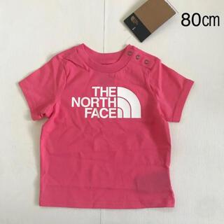 THE NORTH FACE - 【海外限定】ノースフェイス Tシャツ ピンク80